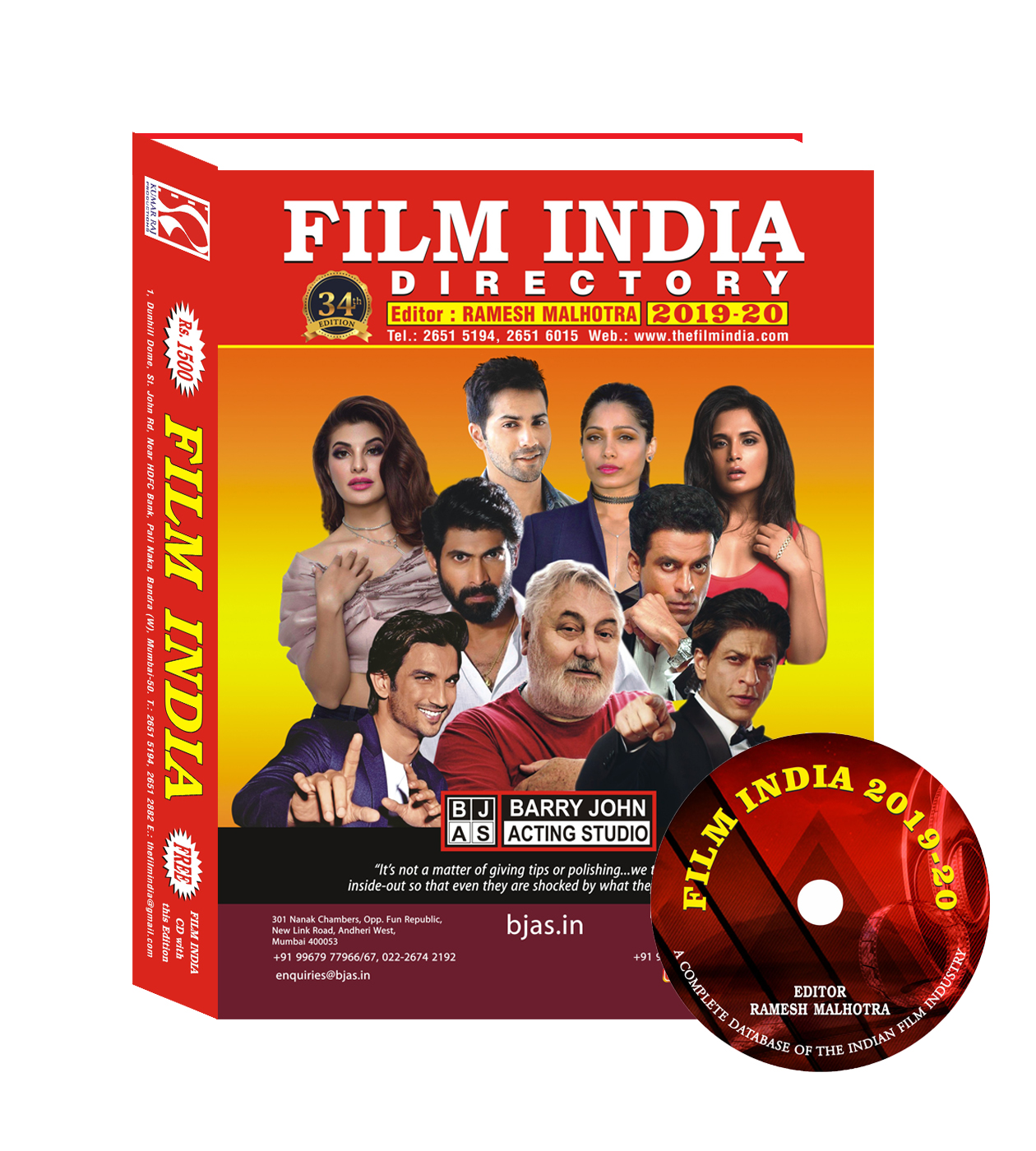 The Film India - Bollywood Contact Directory